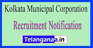 Kolkata Municipal Corporation KMC Recruitment Notification 2017