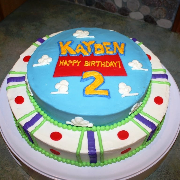 Party Cakes: Toy Story Cake For Kayden
