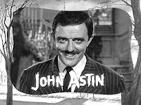 Créditos de la serie para Gomez Addams, interpretado por John Astin
