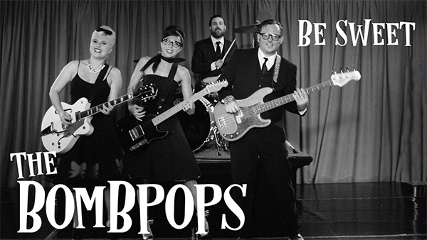 """The Bombpops release video for """"Be Sweet"""""""