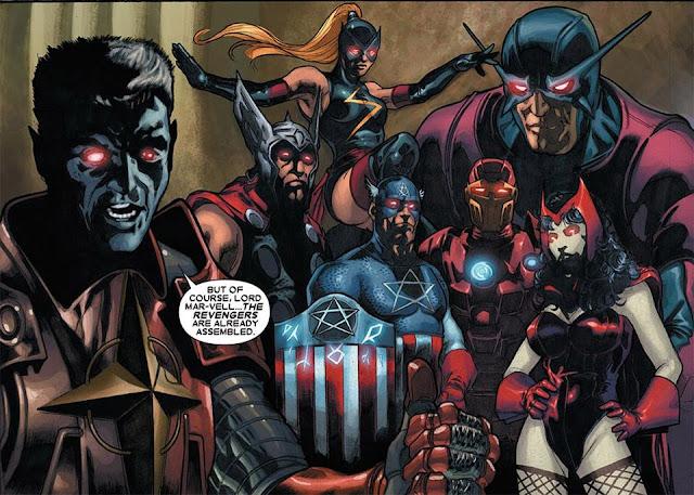 Revengers, Versi Lain Avenger dari Earth-10011