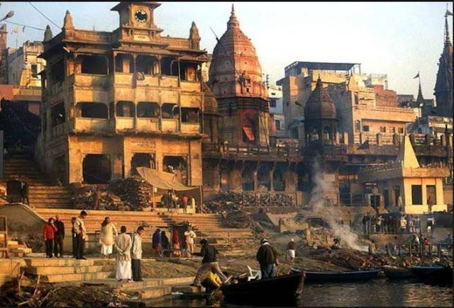 Varanasi en una de sus imagenes más populares