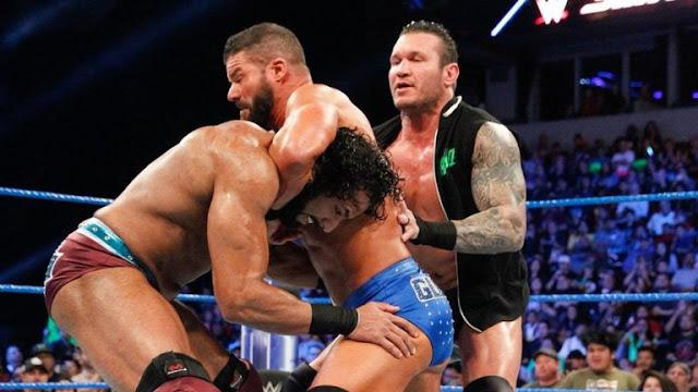 Randy Orton vs Bobby Roode vs Jinder Mahal for WWE Intercontinental Championship
