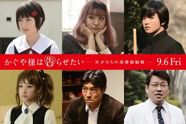 6 Pemeran Baru Film Live-Action Kaguya-sama: Love is War
