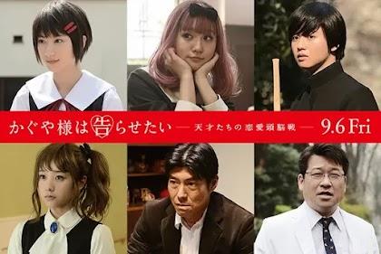 Kaguya-sama: Love is War Live-Action Ungkap 6 Pemeran Barunya