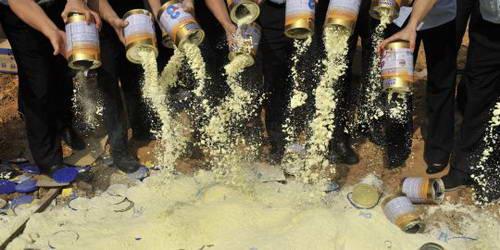Skandal Susu Bubuk - China