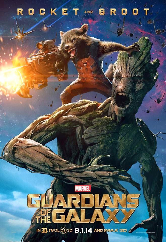 Guardians of the Galaxy Rocket and Groot