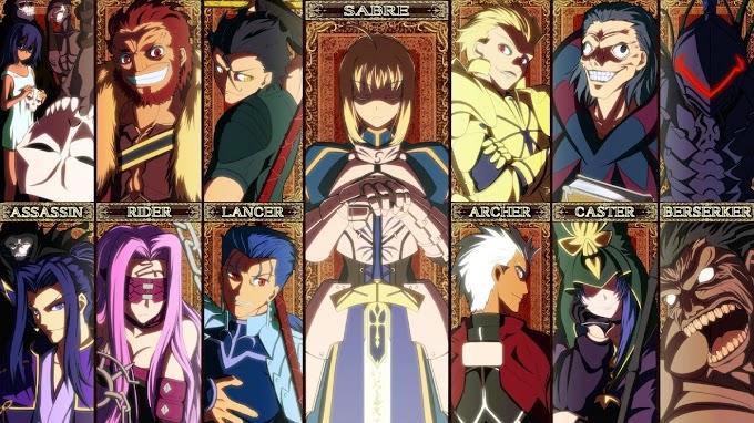 Mengenal 9 Kelas Servant dalam Fate Series