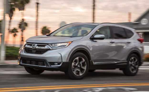 Car And Driver  Review 2017 Honda CR-V AWD