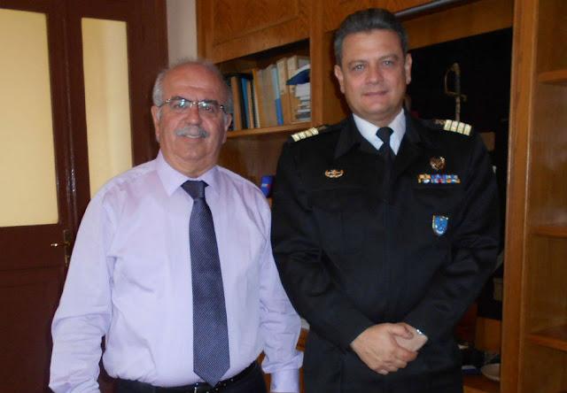 Χαλκίδα: Ο νέος Λιμενάρχης επισκέφθηκε τον Χρήστο Παγώνη (ΦΩΤΟ)