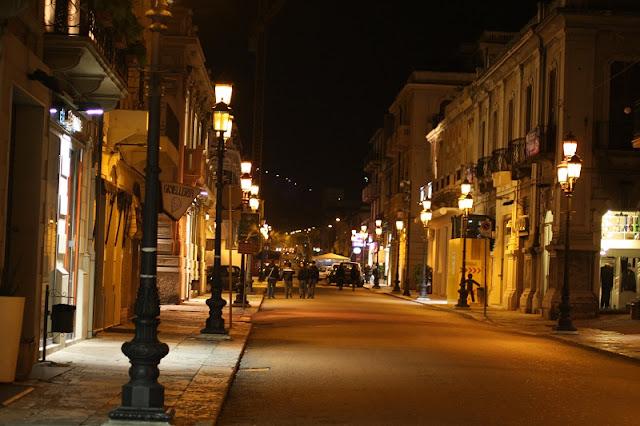 Via Corso Garibaldi em Reggio Calabria