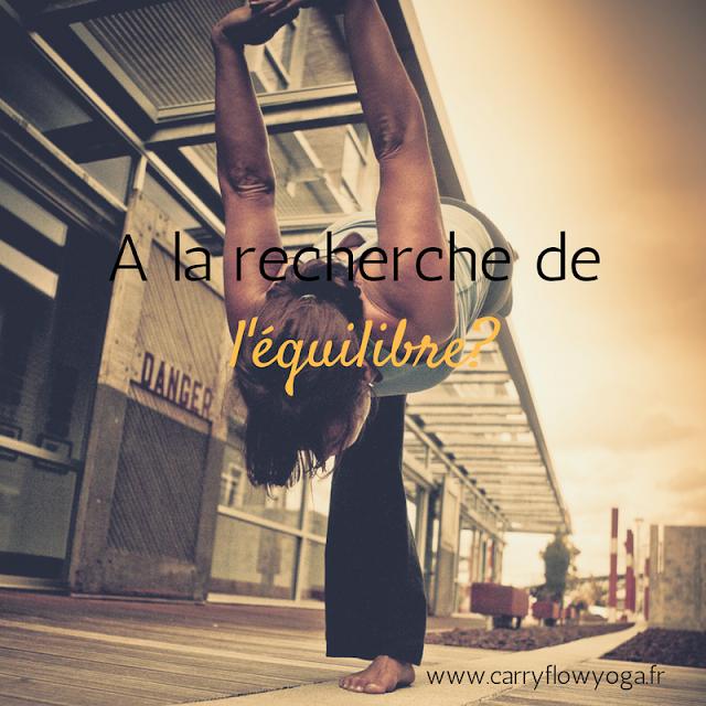 Yoga équilibre vie recherche