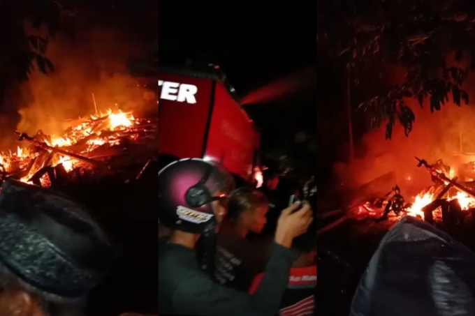 Kebakaran di Mare, Rumah dan Motor Warga Ludes Dilalap Si Jago Merah