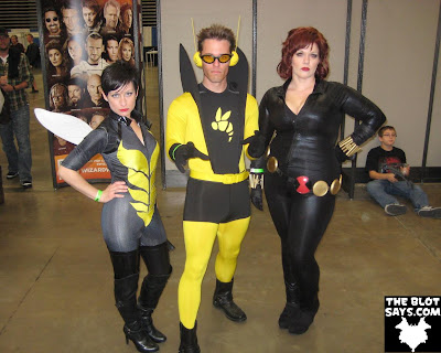 Wizard World Austin Comic-Con 2012 - Avengers The Wasp, Yellowjacket & Black Widow