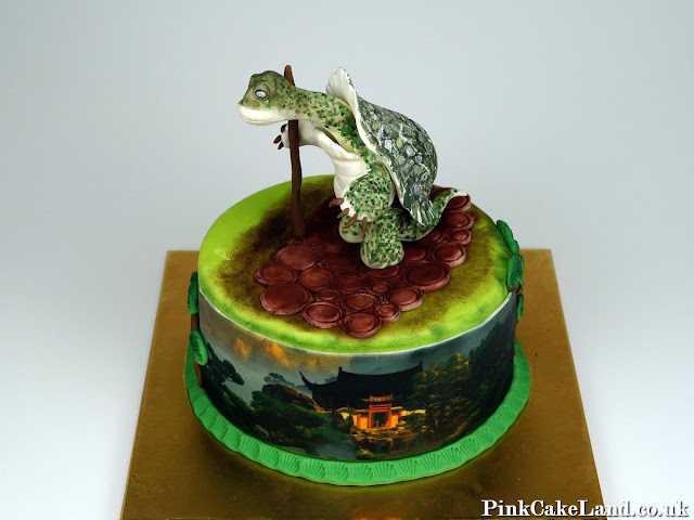 Master Oogway Birthday Cake in London