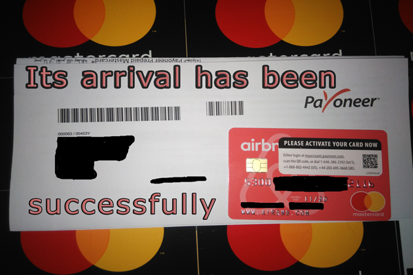 MasterCard payoneer Its arrival  been successfully After the recent updates 2018(review)