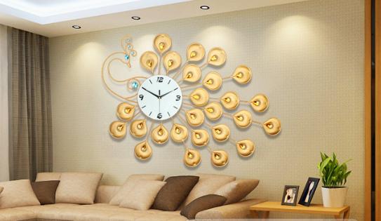 Đồng hồ trang trí treo tường DHNL315