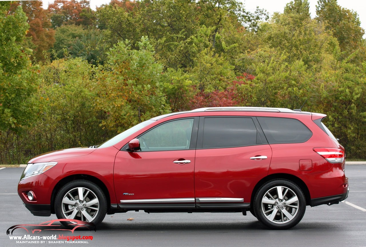 Nissan Pathfinder 4X4 System hd pictures