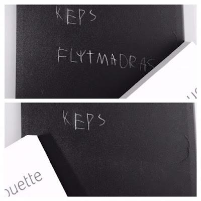 Silhouette Chalkboard Starter Kit - tavelsudd