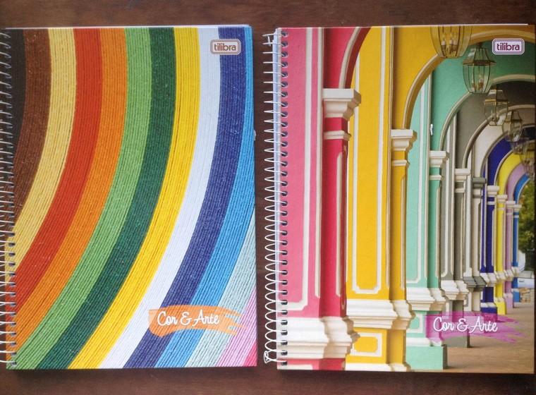 Cadernos Tilibra Cor e Arte 2016