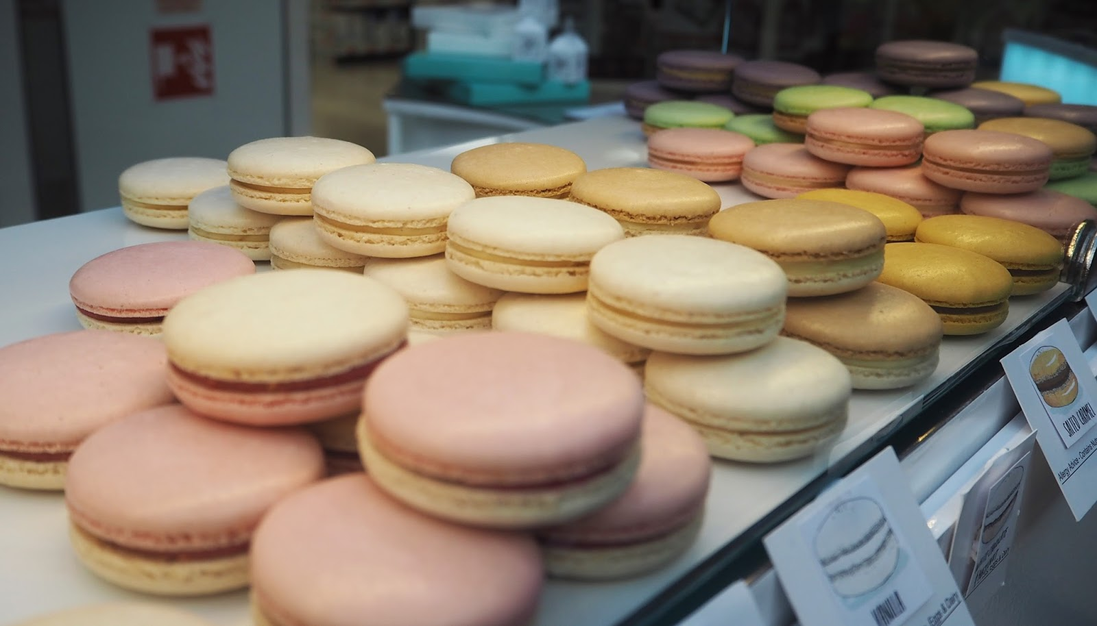 Macarons by Al Strong, Kendal shopping centre