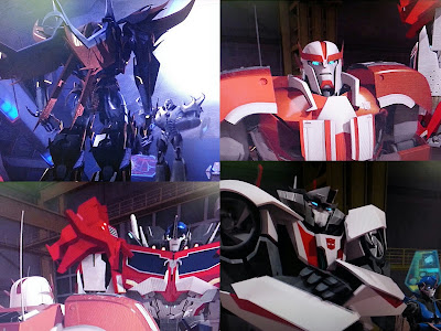 Transformers Beasthunters - Race For Salvation DVD Review screenshot collage