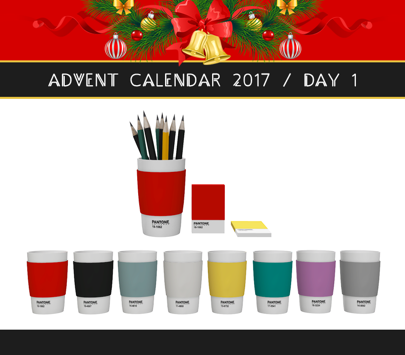 advent calendar 2017 day 1 pantone set dreamteamsims. Black Bedroom Furniture Sets. Home Design Ideas