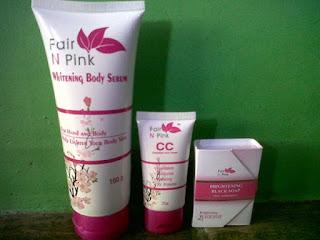 Paket Perawatan Fair n Pink 3 In 1