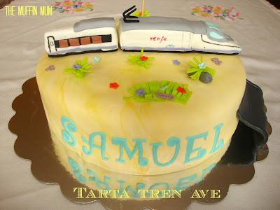 Tarta Tren Ave