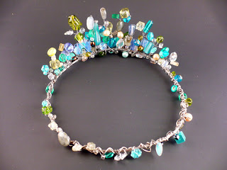 Fancy Beaded Sea Crown Jewelry And