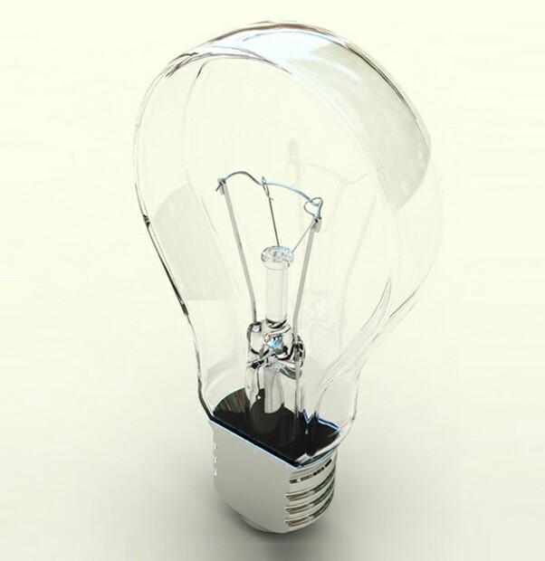 creative flat bulb