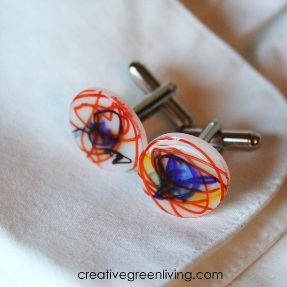 DIY cuff links