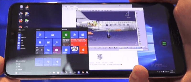 Huawei can make Windows 10 run on some of their mobile devices