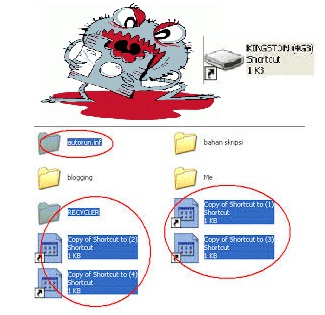 How to remove the virus shortcut , autorun and also repair