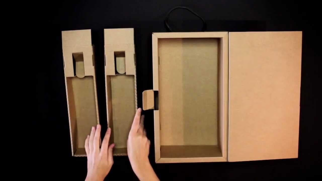 Hacer cajas para botellas es muy fácil, y en este post aprenderás paso a paso como construir una