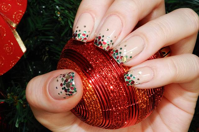 Unhas decoradas natal 2016