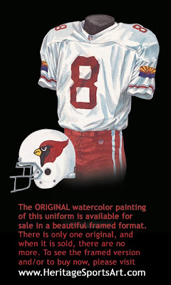 2001 Arizona Cardinals uniform