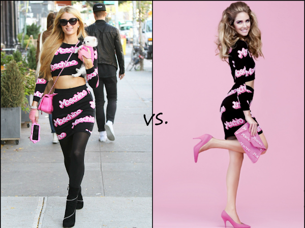 Paris Hilton vs Chiara Ferragni