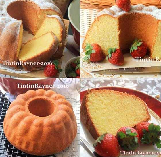 Resep Cake Tapai Keju Special Versi Buttercake. Enak dan Harum Banget