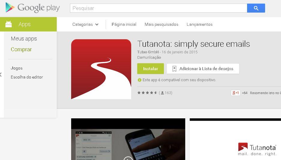 Tutanota - Google Play