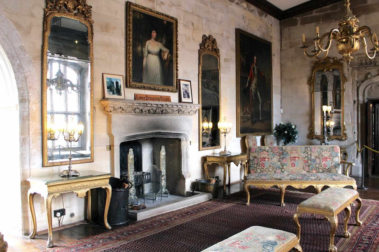 Long Drawing Room at Berkeley Castle visitor review