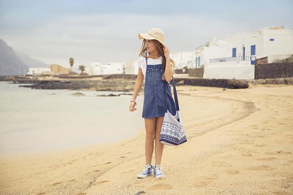 Moda en ropa para niñas primavera verano 2018.