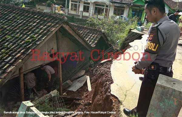 wilayah majalengka dilanda banjir dan tanah longsor