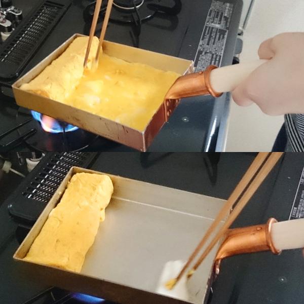 中村銅器製作所 銅製 玉子焼き器 フライパン 銅玉子焼鍋
