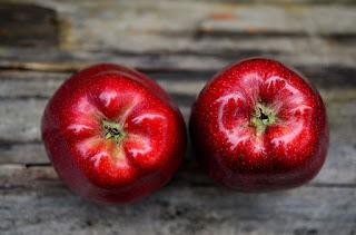 manzana roja evento otoño