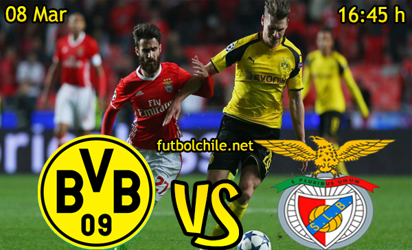 Ver stream hd youtube facebook movil android ios iphone table ipad windows mac linux resultado en vivo, online: Borussia Dortmund vs Benfica
