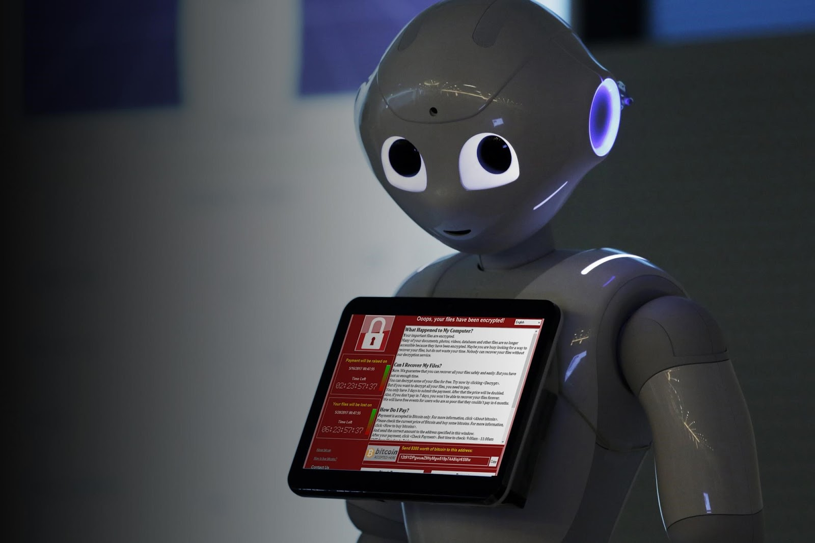 Ransomware for robots is the next big security nightmare