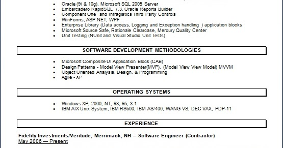 Software Languages, Tools and Environment Developer Sample
