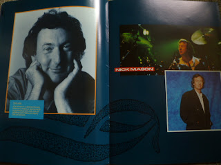 Acidica S Site Pink Floyd Tour Program 1987