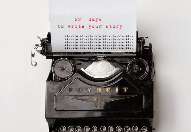 28 days to write your story #day2